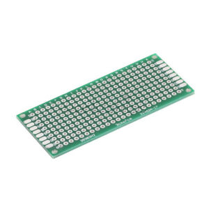 5pcs Double Side Prototype Pcb Bread Board Tinned Universal 3x7 Cm 30x70 Mm