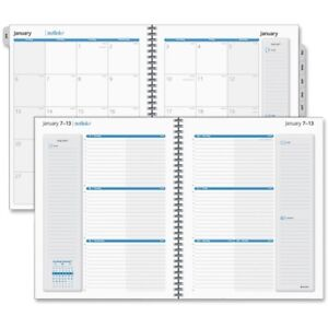 At a glance Outlink Weekly Planner Refill 70 2009 10