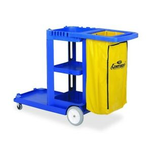 Continental Janitorial Cart 184bl