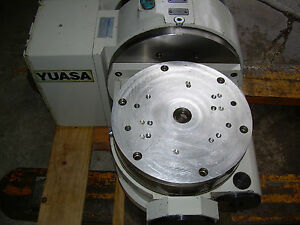 Yuasa 4th 5th Axis Cnc Tilt Rotary Table Utrt 320 Yuasa Undc m2 Program Control
