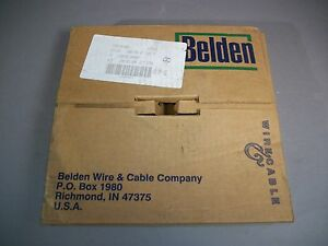 Belden 9r28026 Rainbow Flat Cable 26 conductor 28awg 105c 300v New