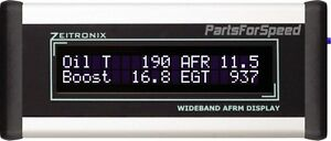 Zeitronix Wideband O2 Afr Silver Lcd Display Only Requires Zt 2 Oxygen Sensor