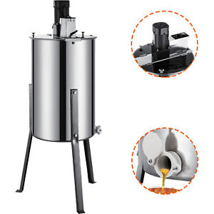 Pro Electric 2 4 Frame Stainless Steel Honey Extractor Beekeeping Equipment Drum