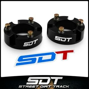 3 Front Black Spacers Level Lift Kit For 1999 2007 Toyota Tundra Sequoia Trd