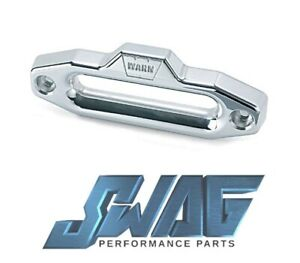Warn Matte Aluminum Hawse Fairlead For Use With Standard Drum Warn Winches 87914