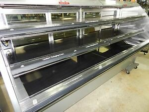 Heated Supermarket Multi deck Service Merchandiser
