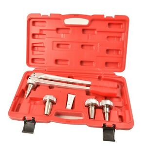 Iwiss Expander Tool Kit With 3 4 1 2 1 Expansion Heads For Propex Wirsbo Uponor