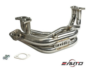 Invidia 60mm Stainless Exhaust Header For Brz Frs Fr S 86 13 18 Fa20d 4u Gse