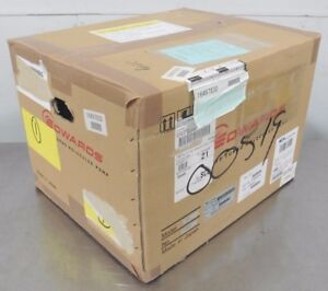 C124431 Edwards Stp ix455c Turbo Molecular Vacuum Pump W Iso100k new in box