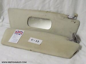 Classic British Saloon Sun Visor Set Great For Your Rat Rod Project