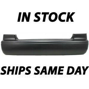 New Primered Rear Bumper Cover Replacement For 2000 2001 Toyota Camry 22701696