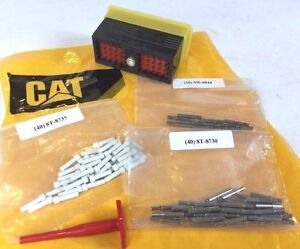New Genuine Oem Caterpillar Cat 9x0141 Connector Kit For Wiring Harness