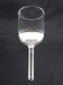 Adams Chittenden Glass 150ml 60mm Coarse C Fritted Buchner Filter Funnel B