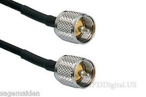 2 Ft Times Microwave Lmr 240 Pl 259 To Pl 259 Coax Commercial Ham Radio Cable