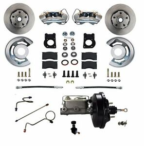 1971 73 Ford Mustang Cougar Disc Brake Conversion Kit Power