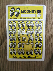 Mooneyes Tire Valve Caps In Yellow Rat Hot Rod Gasser Dune Buggy