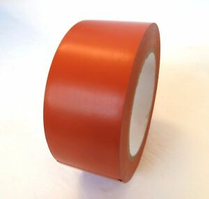2 Orange Insulated Pvc Pin Striping Vinyl Electrical Tape 36 Yd Case Of 24