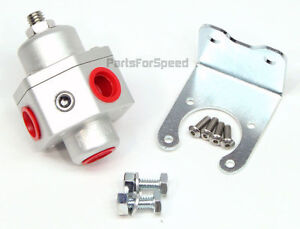 Prp 3005 Billet Fuel Pressure Regulator Carb Return Style 3 8 Npt Made In Usa