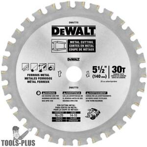 Dewalt Dwa7770 5 1 2 30t Metal Cutting Saw Blade New
