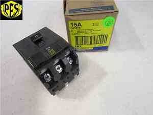 New Square D Qo315 3 Pole 15 Amp 240 Volt Circuit Breaker Fits Nqod Nq