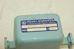 Maury Microwave Corp K750b Isolator 18 26 6 Ghz amm