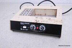 Lab line Multi blok Dry Bath Incubator Heater Model 2053