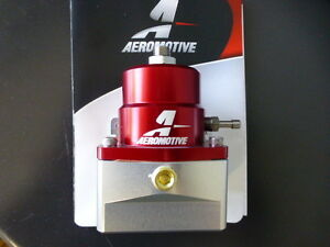 Aeromotive 13109 Fuel Pressure Regulator Efi Bypass 45 75 Psi Adjustable 6 An