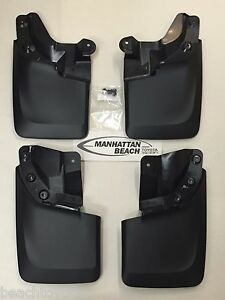 16 19 Tacoma with Fender Flares Mud Flap Mudguard Kit Genuine Toyota Accessory