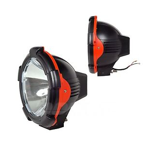 2pcs 9inch 75w Xenon Hid Work Light 12v Spot Flood Atv Tractor Boat Truck Lamp