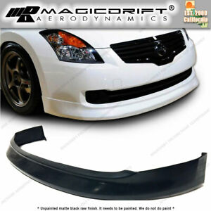 Fit For 2007 2008 2009 Nissan Altima Sedan Mdp Style Front Bumper Lip Spoiler Pu