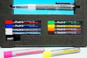 Pentel Ph 802st Multi8 8 Kinds Of Lead In One Holder Ch2f g Ch2f p New