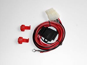 Truck Cap Wiring Harness For Third Brake Light And 12 Volt Dome Light C90 907
