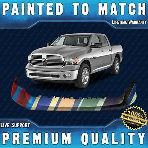 New Painted To Match Front Bumper Top Cover Pad For 2013 2018 Ram 1500 Truck