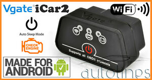 Vgate Icar 2 Elm327 Wifi Obd2 Diagnostics Scanner Android Ios Iphone Ipad