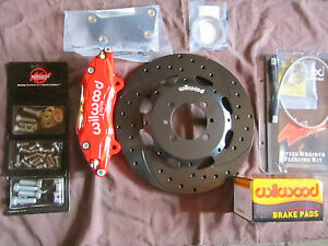 Fiat 500 Big Brake Kit wilwood Pop Sport Lounge Abarth