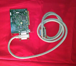 National Instruments Ni 183619b 01 Gpib Pci Card 1998 Cable