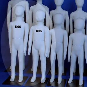 Two New White K05 K06 Totally Flexible And Bendable Arms And Legs Mannequins