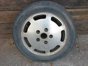 Porsche 356 924 928 914 6 Factory Slotted Wheel Rare
