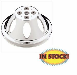 Billet Specialties Water Pump Pulley Small Block Chevy 1 Groove 80120