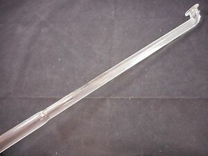 Lab Glass 720mm Oal 19mm Od Polished Ground Button Type Stirrer Stirring Shaft B