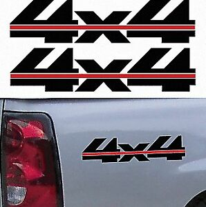 1990 S Chevy Truck 4x4 Off Road Silverado 1500 Sticker Vinyl Decal 2 Set Black