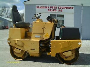 Dynapac Cc10 42 Diesel Double Drum Vibratory Roller Dynapac Roller Roller