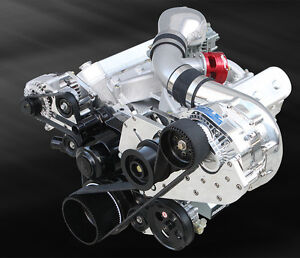 Procharger Gm Lsx Transplant F 1x Supercharger Cog Drive Race Tuner Kit