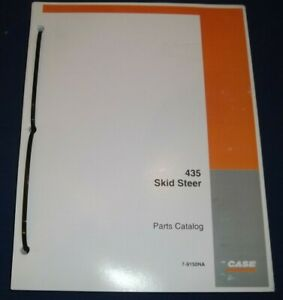 Case 435 Skid Steer Loader Parts Book Manual