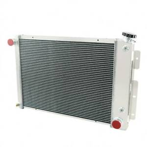 3 Row Aluminum Radiator For 1967 1969 Chevy Camaro Base Rs Ss Z28 L6