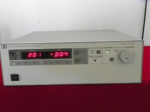 Agilent Hp 6030a Dc Power Supply 0 200v 0 17a 1000w 8 In Stock 90 Day Warranty