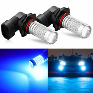 Jdm Astar 2x 4400lm 9005 Hb3 Cree Led White Fog Drl Light Super Bright Bulb 6000