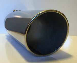 Stainless Steel 4 Inlet 7 Outlet 18 Long Diesel Exhaust Tip Ford Dodge Chevy