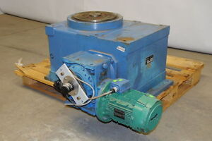 Machines Dubuit Rtp 250 12 Rotary Indexer Indexing Table 240 380vac 3 phase