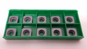 New World Products Sehw 43 Aftn Mc6k C2 Pvd Coat Carbide Inserts 10pcs Milling